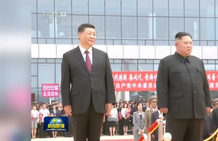 Xi Jinping and Kim Jong Un hold summit in Pyongyang