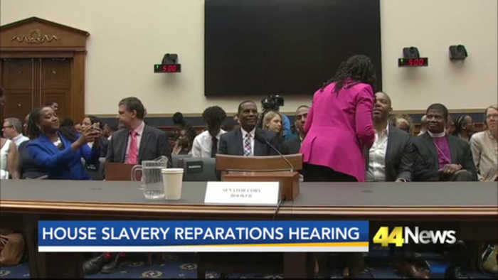 Advocates Push for Slavery Reparations in Congress