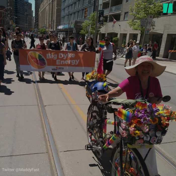 Toronto Gets Loud At Annual Dyke March