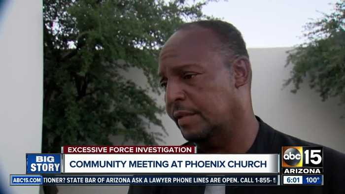 Community meeting held to discuss Phoenix police use of force