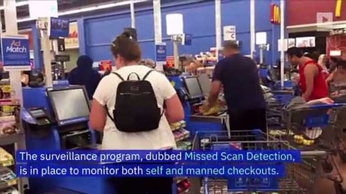 Walmart Uses AI-Powered Cameras to Track Checkout Theft