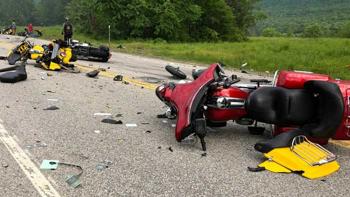 Survivor Of Truck Crash That Killed Seven Motorcyclists: 'It Was All Just Fire'