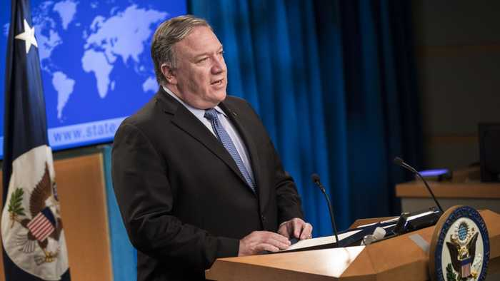 Pompeo Lands In Saudi Arabia To Talk 'Global Coalition' Against Iran