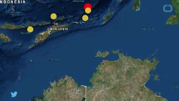 Tremors felt in Australia after quake in Banda sea