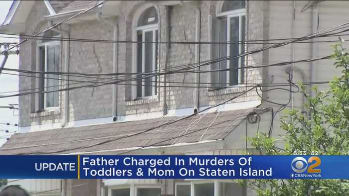 Father Charged In Killings of Mother, Toddlers on Staten Island