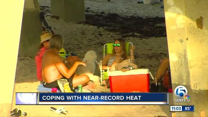 South Florida residents cope with stifling heat wave