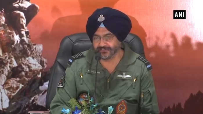 'Pak didn't cross LoC during Feb 27 dogfight': Air Chief Marshal BS Dhanoa