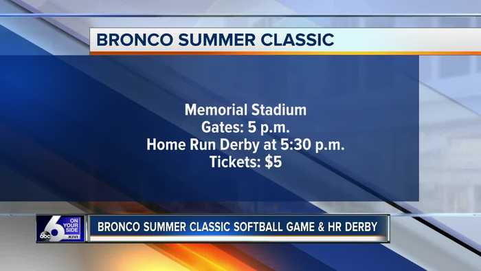 Bronco Summer Classic and Annual Home Run Derby happening today