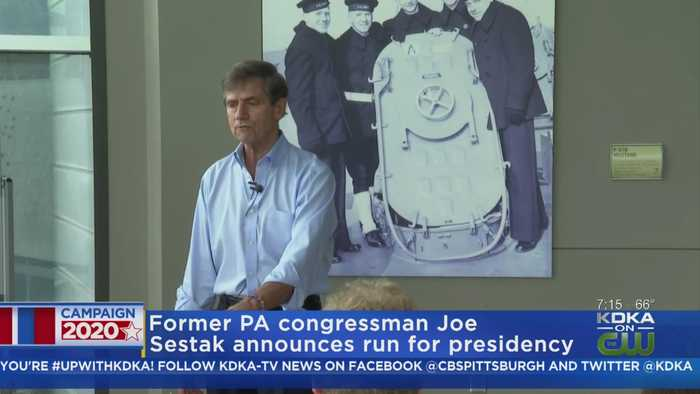 Former Pa. Congressman Announces Presidential Run