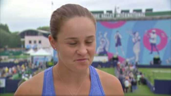 Barty: I'll be ready for Wimbledon