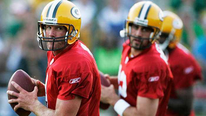 Reacting to Brett Favre's comments on Green Bay Packers quarterback Aaron Rodgers and head coach Matt LaFleur's rapport