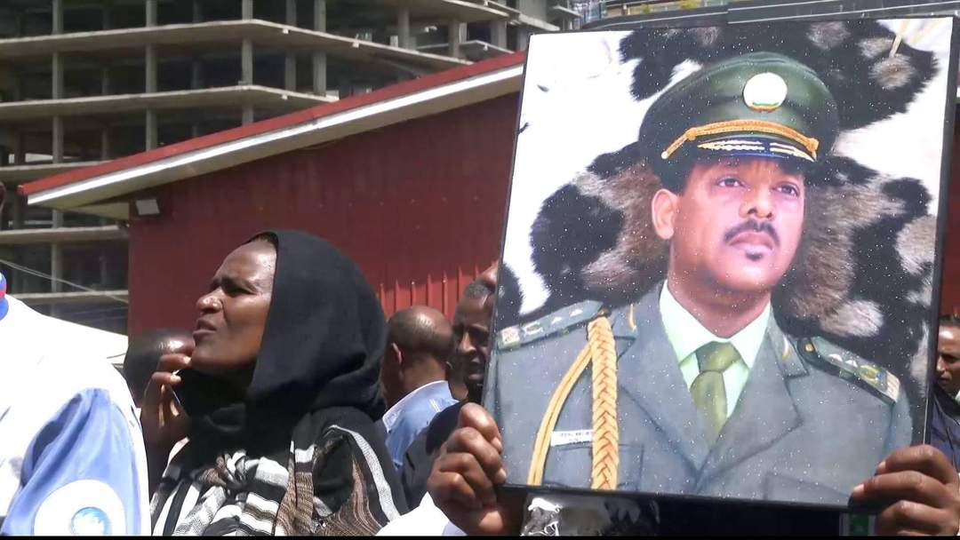 Ethiopia bids farewell to army generals killed in coup attempt