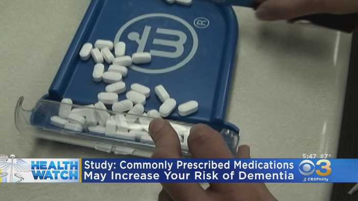 Commonly Prescribed Drugs Tied To Higher Dementia Risk In Older Adults, Study Finds