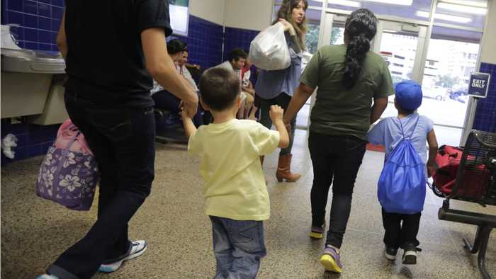 Migrant Children Relocated From Overcrowded Texas Border Patrol Station