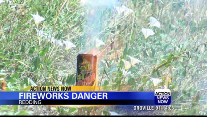 Fire officials warn of firework dangers ahead of Fourth of July