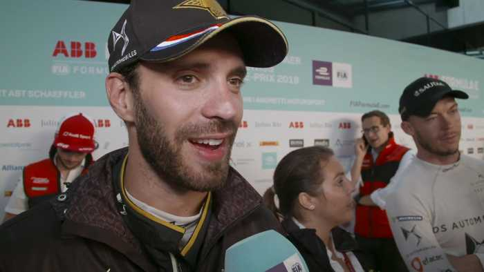 Formula E Swiss E-Prix - Jean-Eric Vergne Post Race