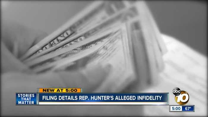 Prosecutors: How Rep. Hunter misused campaign funds