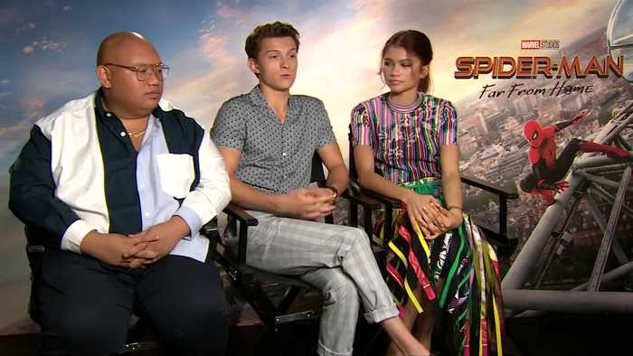Tom Holland, Samuel L. Jackson talk 'Spider-Man: Far from Home'
