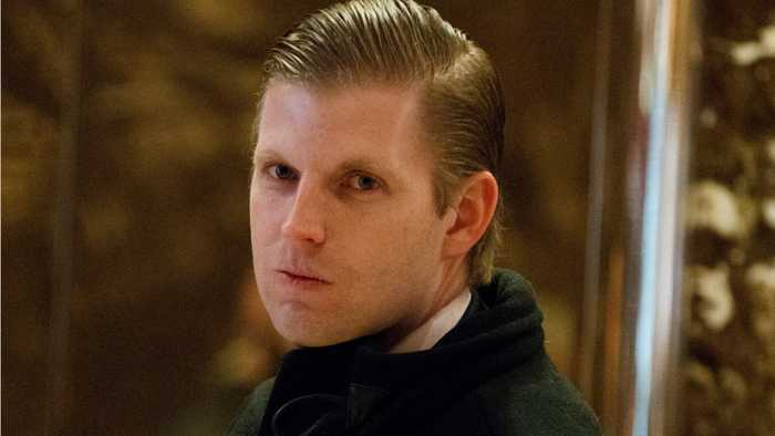 Chicago cocktail bar staff member spits on Eric Trump