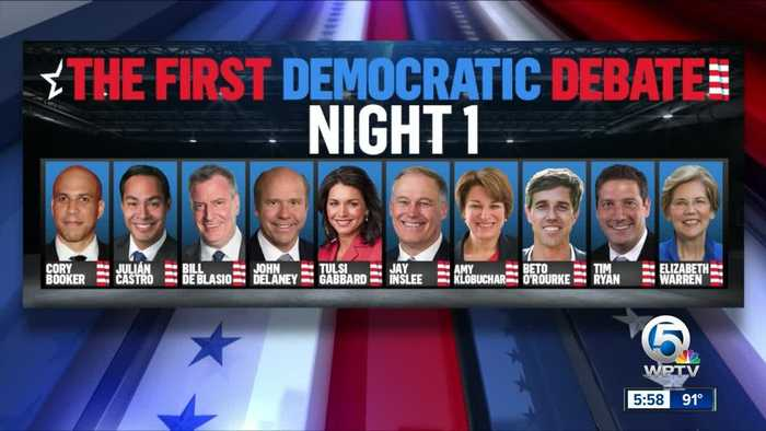 2020 Democrats converge in Miami for first night of debates