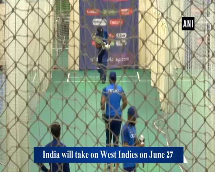 Indian players flex their muscles ahead of clash against West Indies