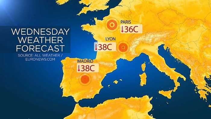 June heatwave expected to break national all-time temperature records in France