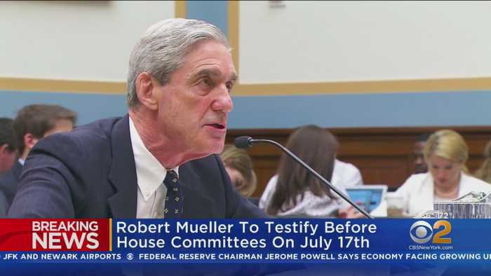 Special Counsel Mueller To Publicly Testify
