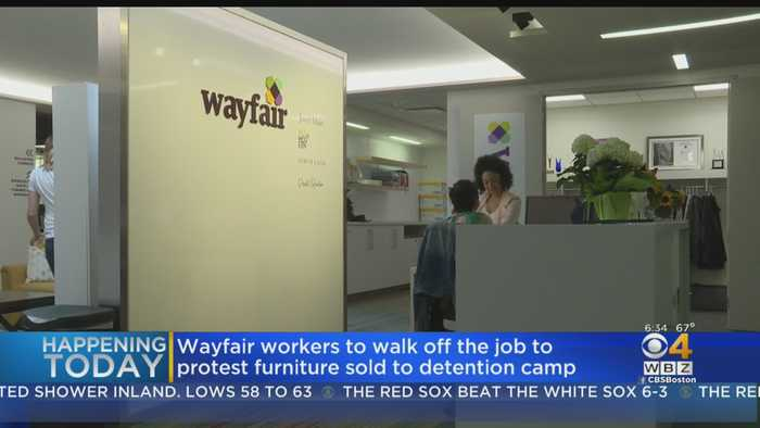 Wayfair Workers To Walkout In Boston To Protest Business With Detention Centers