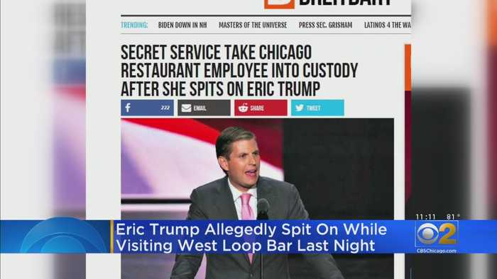 West Loop Cocktail Bar Worker Spits In Eric Trump's Face