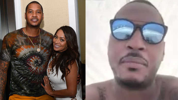 Carmelo Anthony SPOTTED On Yacht With Another Woman ON Wife LaLa's Birthday, Denies The Whole Thing