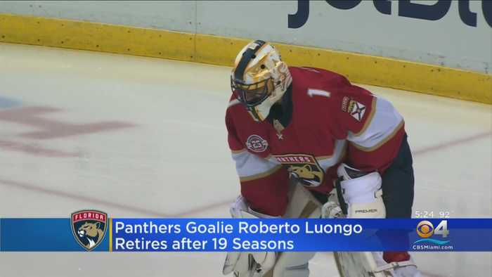 Florida Panthers Goalie Roberto Luongo Retires After 19 Seasons