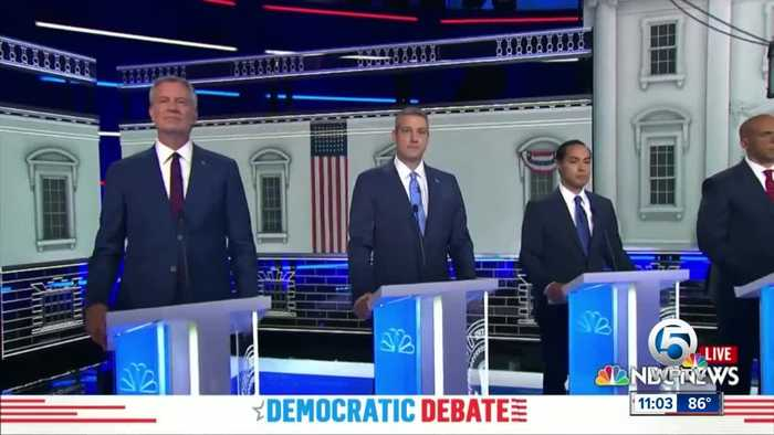 First night of Democratic debates