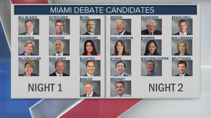Preview: Round 1 Of 1st Democratic Presidential Debate