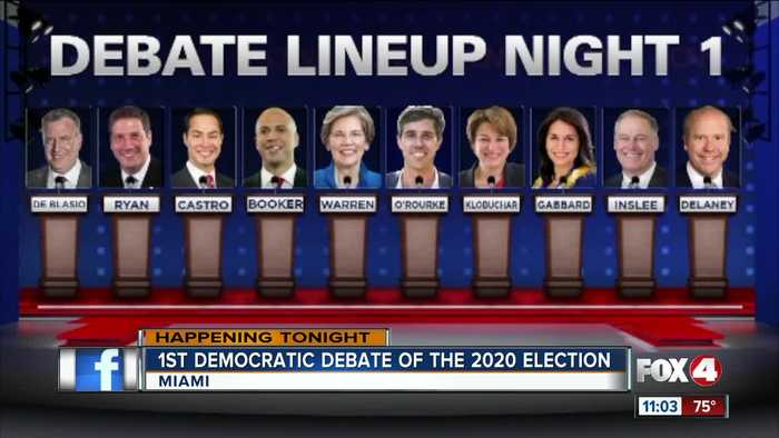 Highlights from first Democratic Debate of 2020 Election