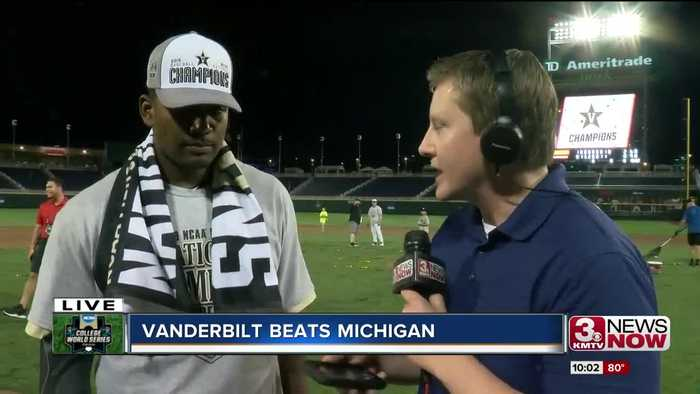 Interview with CWS Most Outstanding Player Kumar Rocker