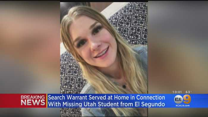 Salt Lake City Police Search Salt Lake City Home In Connection With Missing Student