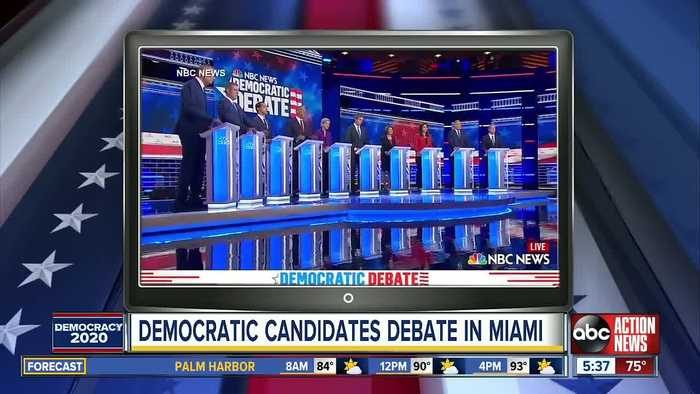 Democrats get feisty in final stages of first 2020 debate