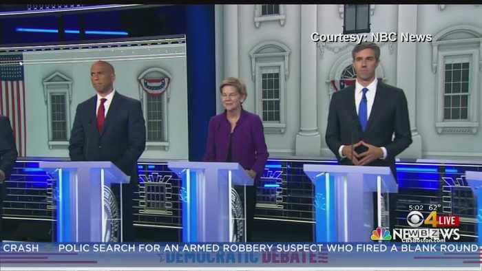 Democrats Focus On Health Care, Immigration In First Debate