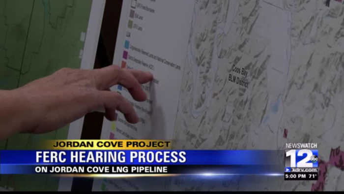 Supporters and opponents of Jordan Cove show up for FERC hearing
