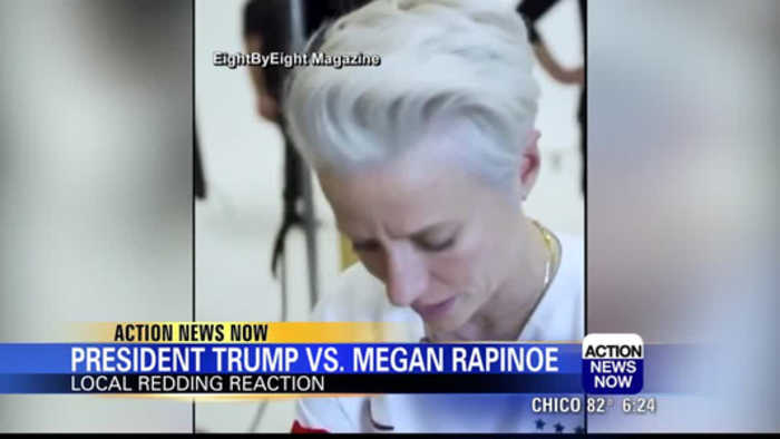President Trump tweets about Megan Rapinoe not wanting to go to the White House