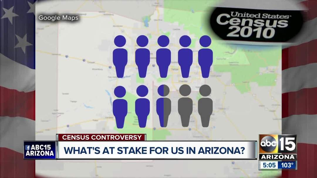 How does census controversy impact Arizonans?