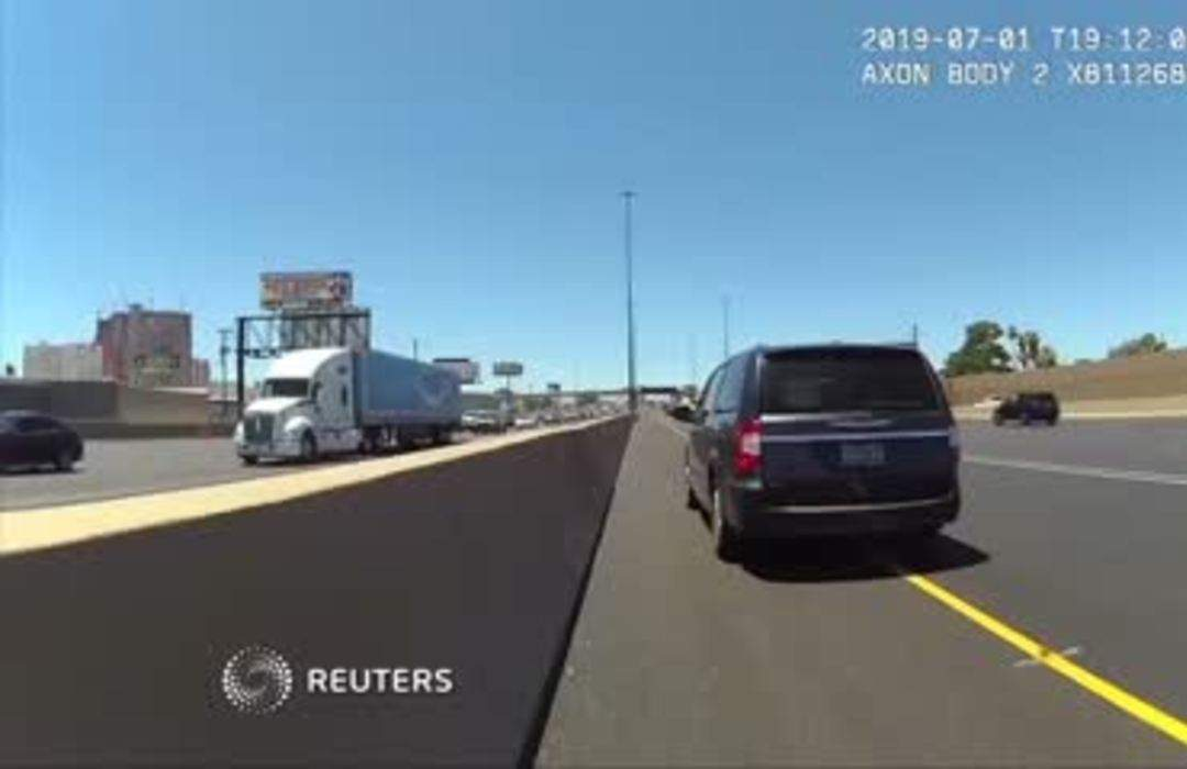 Body In Hearse Not An Hov Lane Qualifier Nevada One News Page Video