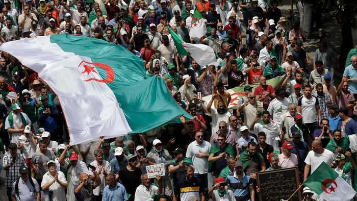 Algeria protesters demand free elections within 6 months