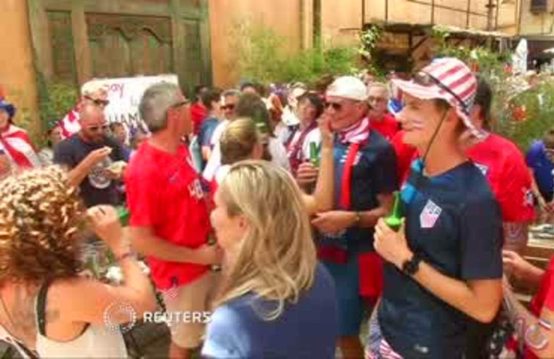 Fans hyped for World Cup final