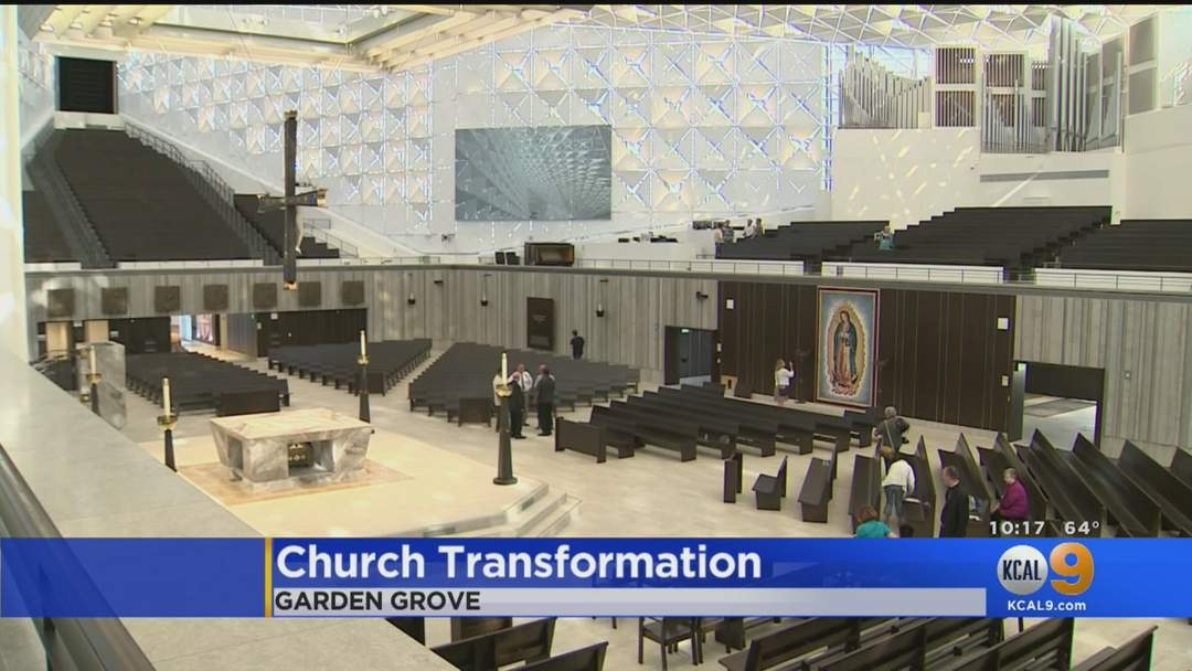Take A Look Inside The Renovated Christ Cathedral