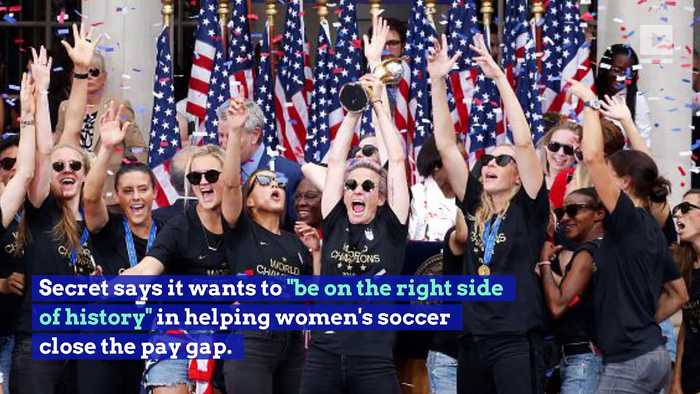 US Women's Soccer Receives $529,000 From Secret Deodorant