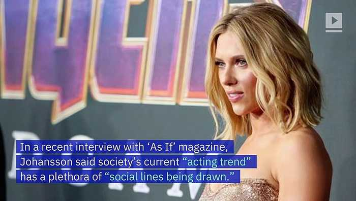 Scarlett Johansson Thinks Political Correctness Restricts Art