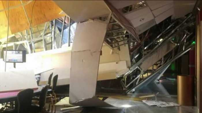 11 People Hurt After Roof Partially Collapses at California Casino