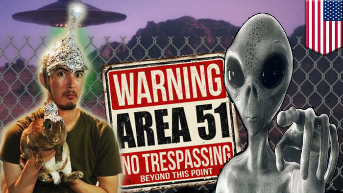 Storm Area 51: US Air Force warns alien hunters