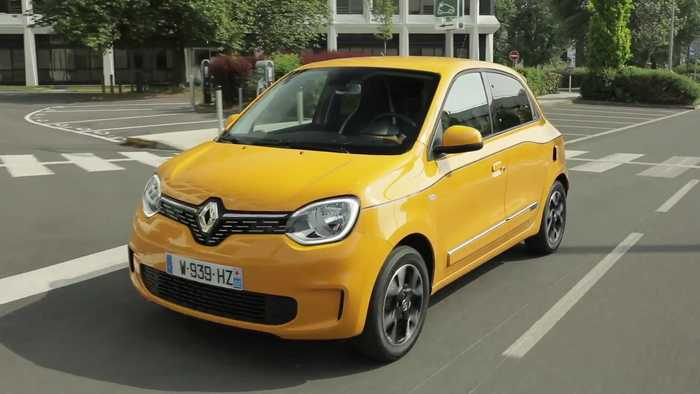 2019 New Renault TWINGO in Mango Yellow Driving Video